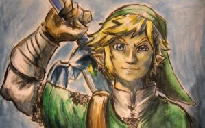 Waterpainting - Link by Hukkis