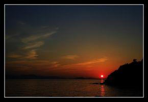 Sunset at Bodrum by selnurokudan