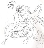 combat cammy white by 187charger