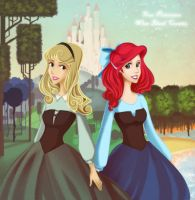 Disney's Black Corsets. by palnk