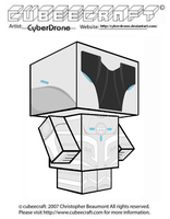 Cubeecraft - The Renegade by CyberDrone