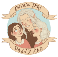 Dovah Dad, Daddy Kiin by Frozen-lullaby