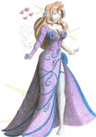 Colored Gown by silentmoon913