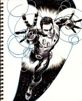 Sketch 33 : Cosmic Boy by Cinar