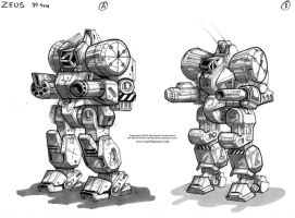 MechWarrior Fail: Zeus by Mecha-Zone