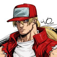 Digital Sketch Warm up - 11 TerryBogard by Vostalgic