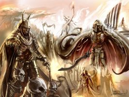 BurningSand army by LordHannu