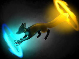 Think With Portals by Foxxy-Fearyn