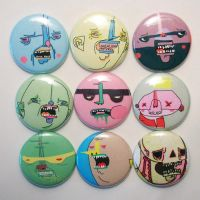 Button Brigade by elephantseed