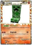 Creeper pokemon card by Stickbomber