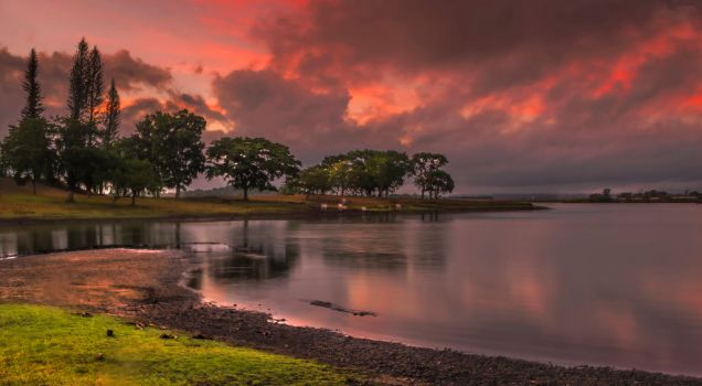 Caliraya Lake by Gosushi
