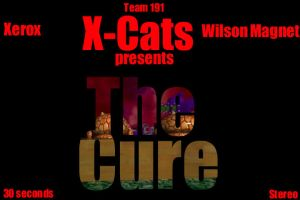 The Cure Title Slate by EdGPatterson