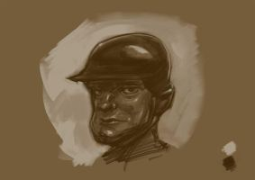 Soldier Face by lepetitgroin