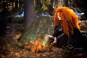 Fire and ginger princess) by Zoisite-Virupaksha