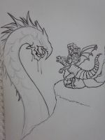 Heroes of might and magic sketch by ramatto