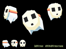 Boo Guy - Lowpoly 3D by papercaves