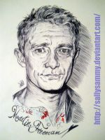 Martin Freeman by Sallysammy