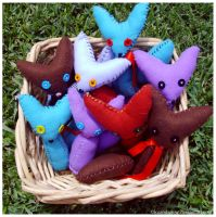 Basket o' Foxes by IceandSnow