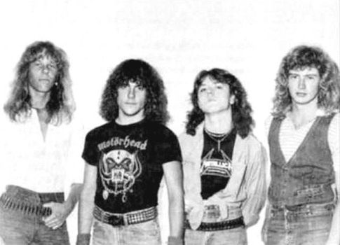 Metallica in 1981 by X-ploder