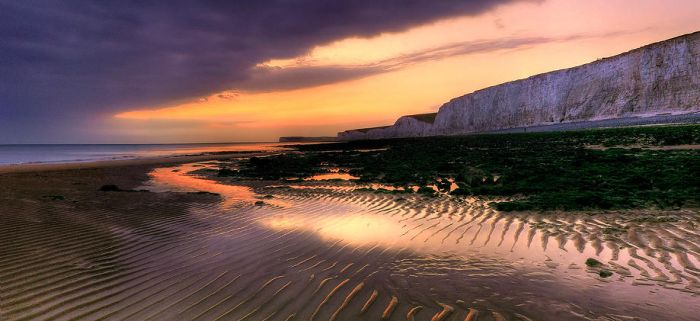 Blue Cliffs by wreck-photography