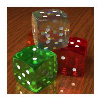 Caustic Dice by Lokai2000