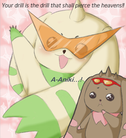 Terria and Lopmon by TOXiC-ToOtHpAsTe