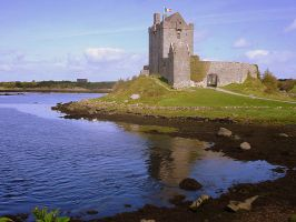 Dunguaire Castle by Refract