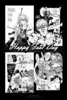 Happy Fool Day: FMA fanbook by STECHA191