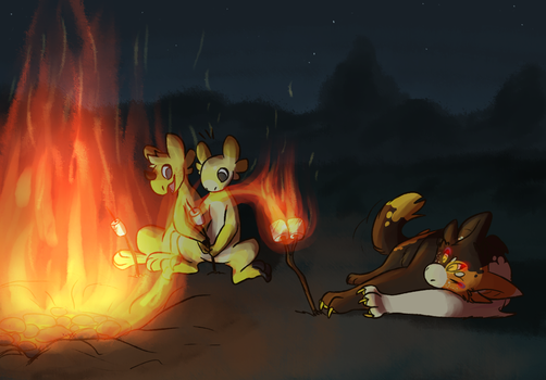 magic class - fire manipulation by red-anteater