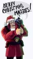 TF2 Christmas Soldier by Sheeters