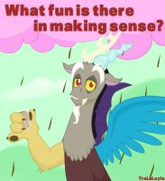What fun is there in making sense? by TraLaLayla