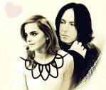 Severus and Hermione by DocGimpy