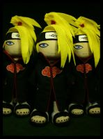Deidara Army by pheleon