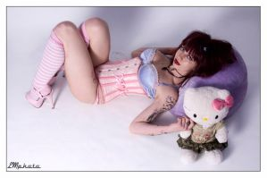 Hello kitty by Modelfaye