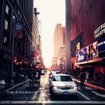 New York - Sunset by DarkSaiF