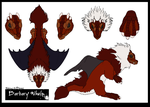 Barbary Whelp Contest Entry by TheWyvernAndTheFox