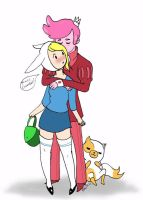 Good Luck Fionna by FF1-Mewdo