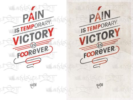 Pain or Victory by m-A-s