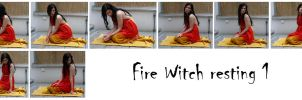 fire witch resting1 by syccas-stock