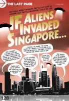 If Aliens Invaded Singapore by mokoo