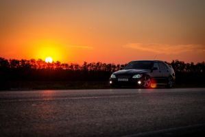 toyota altezza sunset by a-place4my-head
