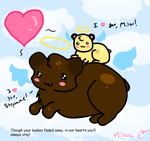 Rolo and Twinkie by Mitsu-Muffin