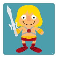 He-Man by striffle