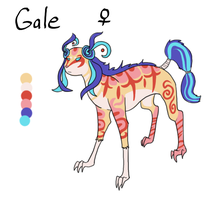 Gale Breeder [CLOSED] by Squidoptables
