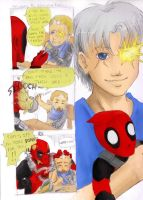 Cable+Deadpool randomness by Azurith