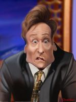 Conan O'Brien - Big Conan is Watching You by David-Lacasse