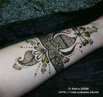 henna cuff by Mehndi-club