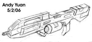 Assault Rifle Design by c-force