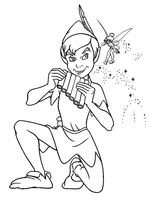 Peter Pan With Pipes by Writer-Colorer