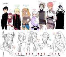 TBWF (Imaginary) Age Lineup by demitasse-lover